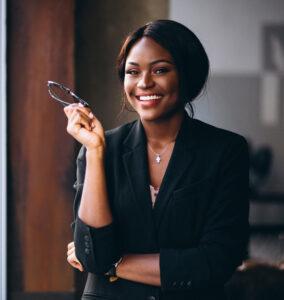 Une femme, la première gérante